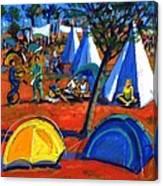 Pop Festival Canvas Print