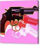 Pop Handgun Canvas Print