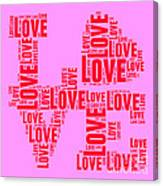 Pop Love 4 Canvas Print