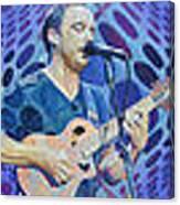 The Dave Matthews Band Op Art Style Canvas Print