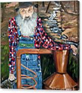 Popcorn Sutton - Bootlegger - Still Canvas Print
