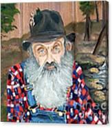 Popcorn Sutton - Moonshine Legend - Landscape View Canvas Print