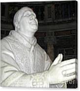 Pope Pius Ix Santa Maria Maggiore Canvas Print