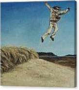 Popham Jump  Canvas Print
