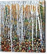 Poplar Art Canvas Print