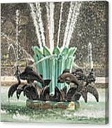 Popp Fountain In City Park New Orleans Canvas Print