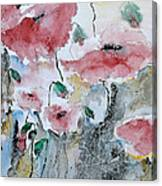 Poppies 01 Canvas Print