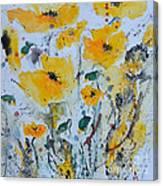 Poppies 03 Canvas Print