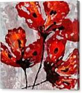 Poppies 47 Canvas Print