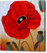 Poppies I Canvas Print