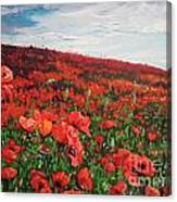 Poppies Impression Canvas Print