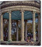 Popps Bandstand In City Park Nola Canvas Print