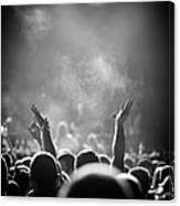 Popular Music Concert Canvas Print