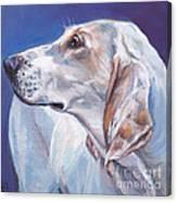 Porcelaine Hound Canvas Print