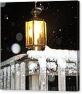 Porch Lamp Canvas Print