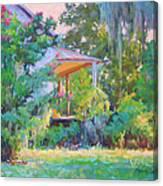 Porch Vision Canvas Print