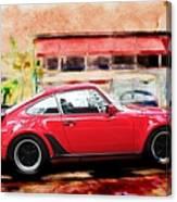 Porsche Series 01 Canvas Print