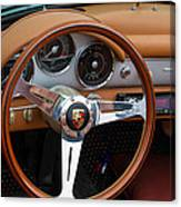 Porsche 356b Super 90 Interior Canvas Print