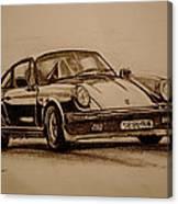 Porsche 911 Carrera Canvas Print