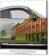 Porsche 911 Elite Hotel Joenkoeping Canvas Print