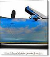 Porsche 911 Elvington Skies Canvas Print