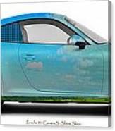 Porsche 911 Skaane Skies Canvas Print