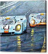 Porsche 917 K Gulf Spa Francorchamps 1971 Canvas Print