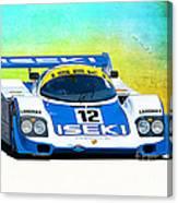 Porsche 956c - 118 Canvas Print