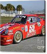 Porsche Rsr Race Car At Sebring Canvas Print