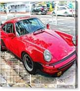 Porsche Series 02 Canvas Print