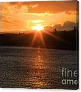 Port Angeles Sunrise Canvas Print