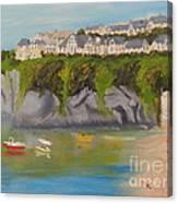 Port Asaac Cornwell Canvas Print