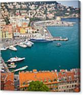 Port Du Nice Canvas Print