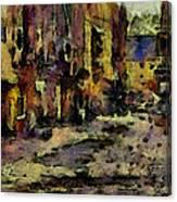 Port Canvas Print