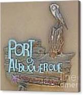 Port Of Albuquerque Canvas Print