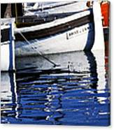 Port Of Cannes Canvas Print