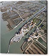 Port Of Cayenne, Marennes Canvas Print