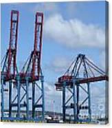 port of Gothenburg Canvas Print