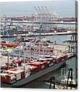 Port Of Long Beach Canvas Print