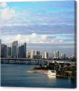 Port Of Miami 3 Canvas Print