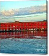 Port Of Naples Canvas Print