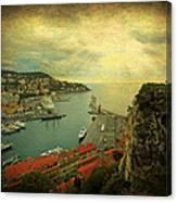 Port Of Nice Canvas Print