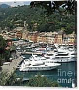 Port Of Portofino Canvas Print