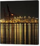 Port Of Vancouver Bc Canada Canvas Print
