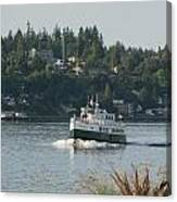 Port Orchard Foot Ferry Canvas Print