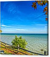 Port Sanilac Scenic Turnout Canvas Print
