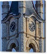 Port Washinton Court House Steeple 1  Canvas Print