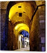 Porta Alfonsina Canvas Print
