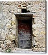 Porta Rossa Canvas Print