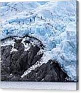 Portage Glacier Rretreat Canvas Print